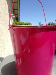 painted bucket